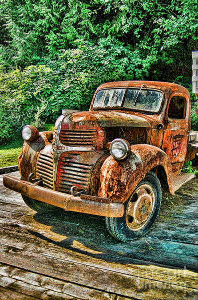 Wall Art - Photograph - Telegraph Cove Dodge Pickup by Randy Harris