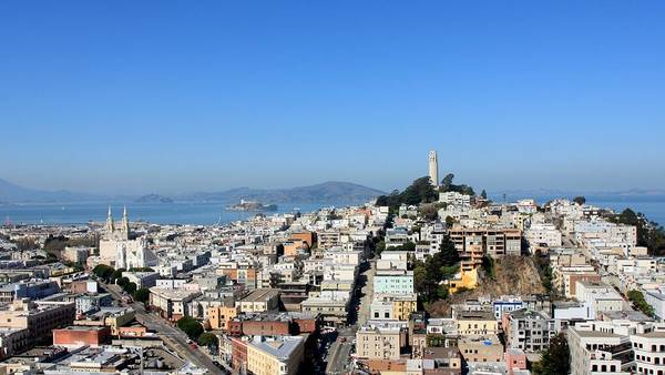 Coit Tower Photograph - Telegraph Hill In San Francisco by J.castro