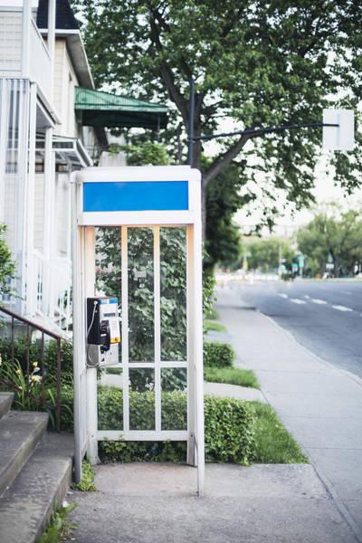 Telephone Booth Art Print by Linda Raymond