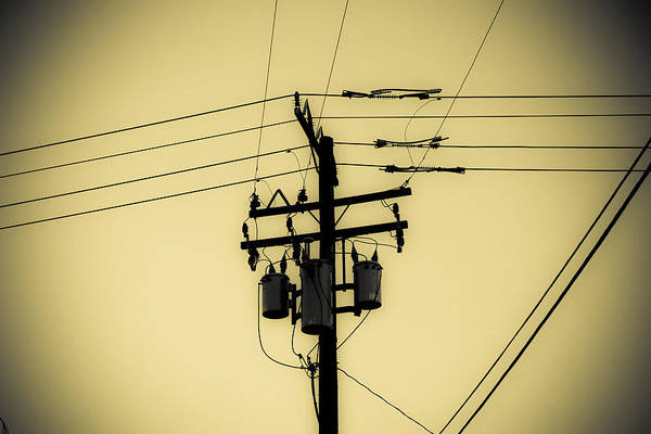 Photograph - Telephone Pole 4 by Scott Campbell