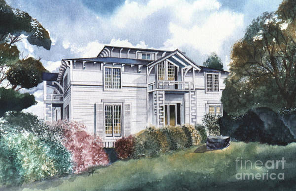 Painting - Tellico Johnson Mansion  by Teri Brown
