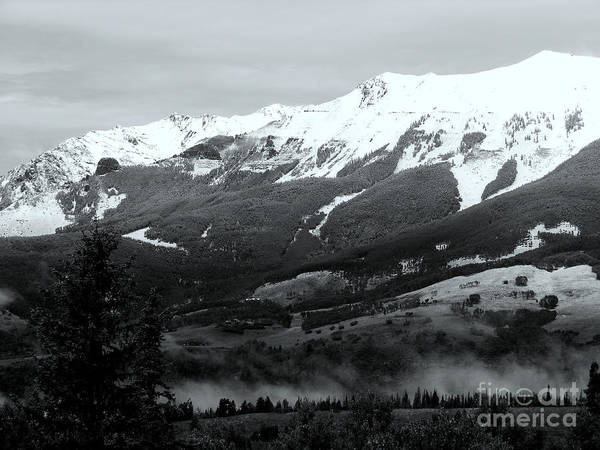Photograph - Telluride 1 In B And W by Marlene Burns