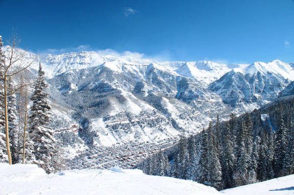 Telluride Photograph - Telluride Snowscape by Saya Studios