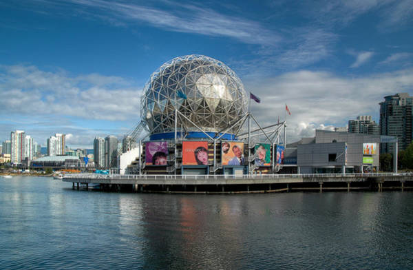 Photograph - Telus World Of Science Vancouver British Columbia. by Rob Huntley