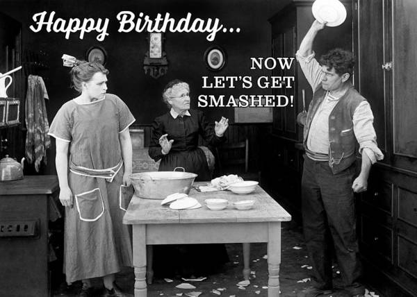 Wall Art - Photograph - Temper Tantrum Birthday Greeting Card by Communique Cards