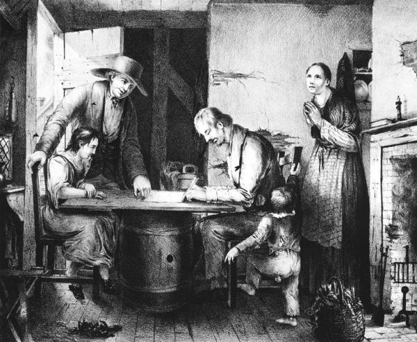 Alcoholism Painting - Temperance Movement, 1846 by Granger