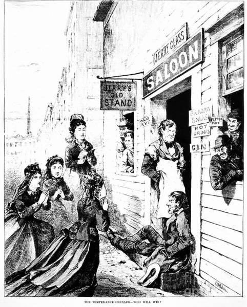Photograph - Temperance Movement, 1874 by Granger