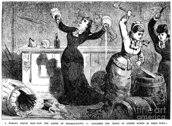 Temperance Movement Photograph - Temperance Movement, 1890 by Granger