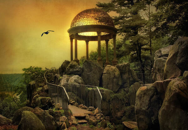 Photograph - Temple At Dusk by Jessica Jenney