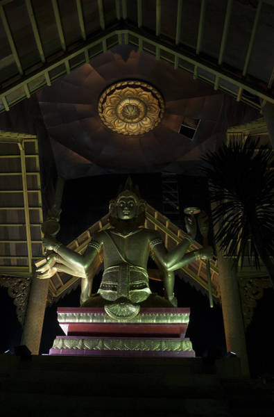 Photograph - Temple At Night by Miguel Winterpacht