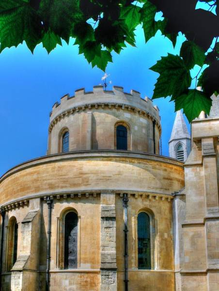 Photograph - Temple Church London by Jenny Setchell