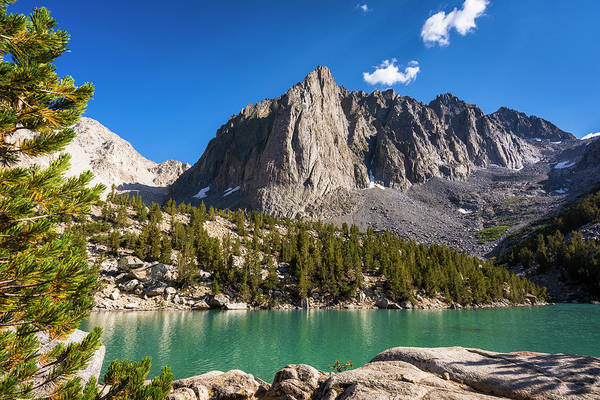 Untamed Photograph - Temple Crag Above Big Pine Lake, John by Russ Bishop