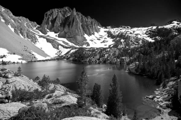 Sierra Nevada Photograph - Temple Crag by Cat Connor