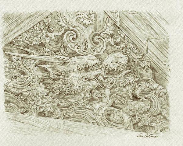 Wood carvings drawings fine art america