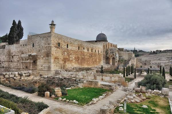 Photograph - Temple Mount Jerusalem by Mark Fuller