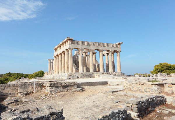Photograph - Temple Of Aphaia In Aegina by Paul Cowan