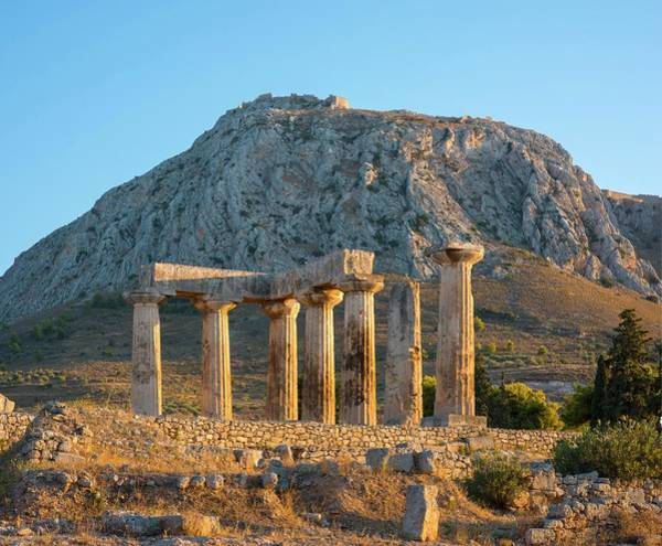 Peloponnese Photograph - Temple Of Apollo by David Parker/science Photo Library