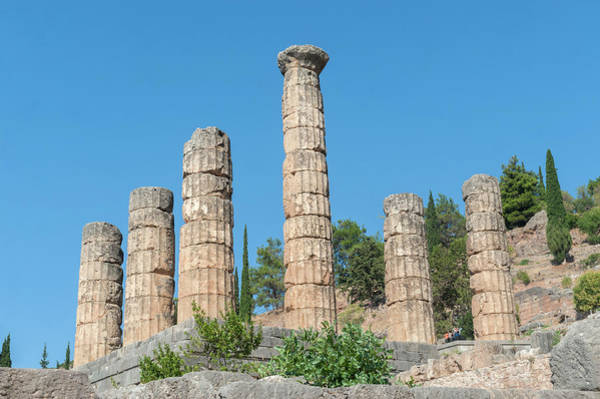 Jim Temple Photograph - Temple Of Apollo, Delphi, Greece by Jim Engelbrecht