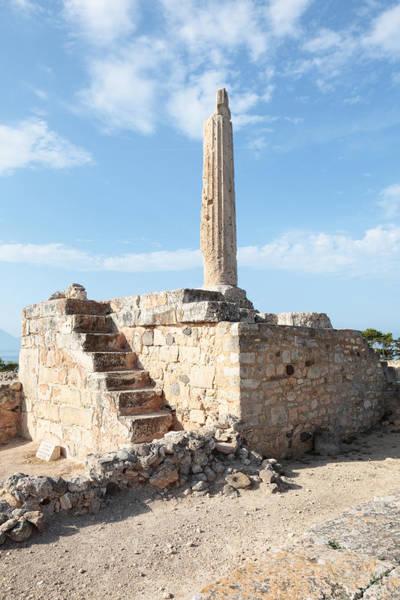 Photograph - Temple Of Apollo In Aegina by Paul Cowan