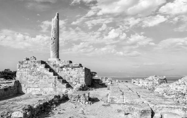 Photograph - Temple Of Apollo On Aegina by Paul Cowan