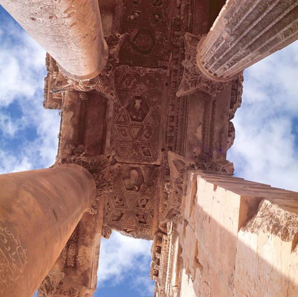 Wall Art - Photograph - Temple Of Bacchus, Roman by Roman School
