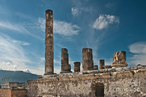 Wall Art - Photograph - Temple Of Jupiter by Marion Galt
