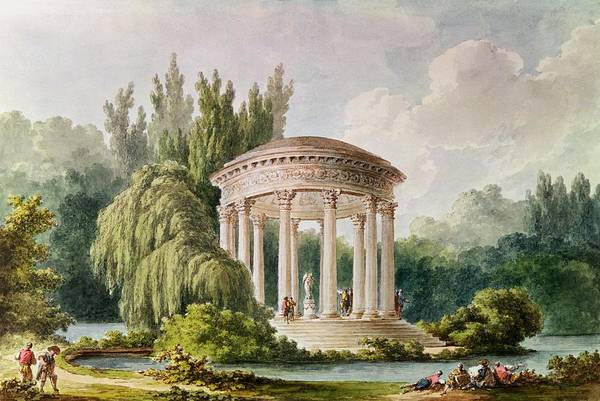 Versailles Wall Art - Photograph - Temple Of Love, Petit Trianon Wc by Anonymous
