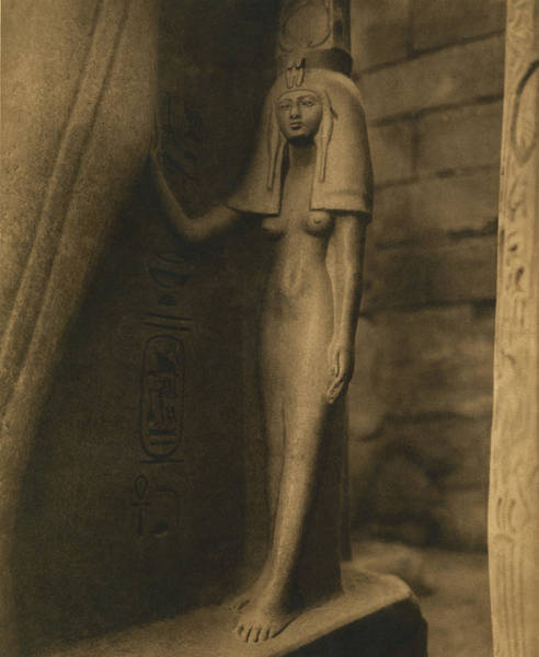 Ancient Egypt Photograph - Temple Of Luxor by Underwood Archives