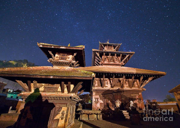 Wall Art - Photograph - Temple Of Panauti by Babak Tafreshi