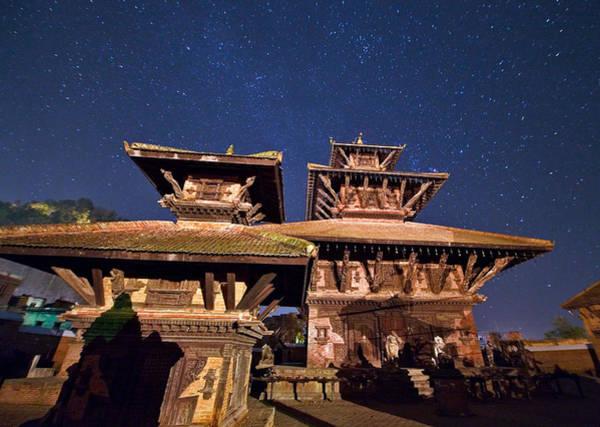 Nepal Wall Art - Photograph - Temple Of Panauti by Babak Tafreshi/science Photo Library
