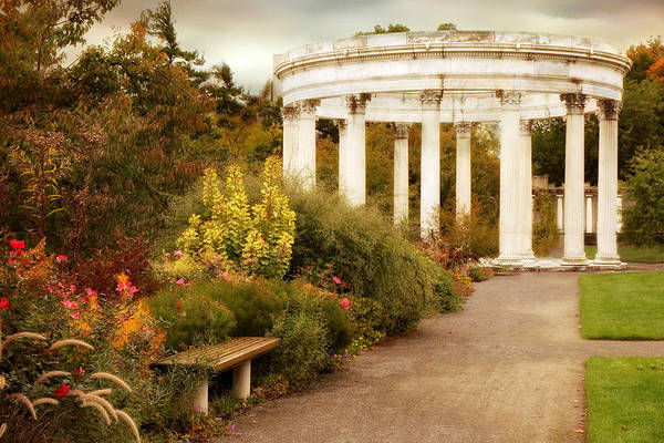 Photograph - Temple Of The Sky In Autumn by Jessica Jenney