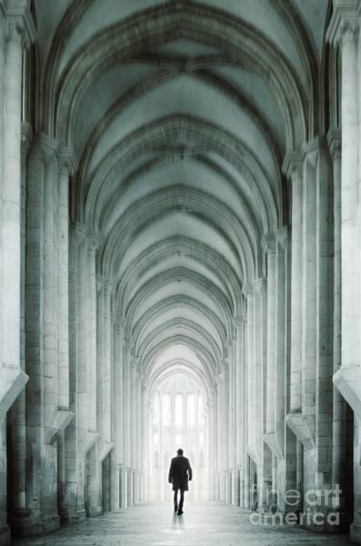 Cloister Photograph - Temple Walker by Carlos Caetano