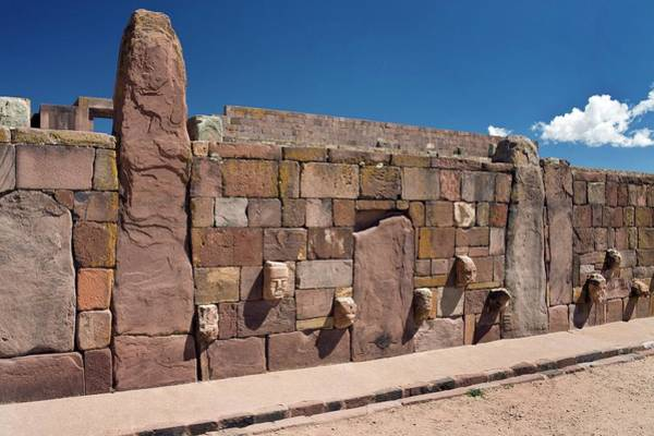 Wall Art - Photograph - Temple Wall by Steve Allen/science Photo Library