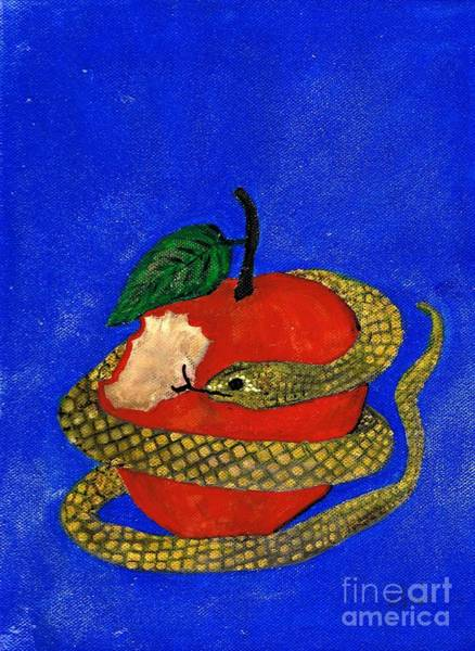 Painting - Temptation 2 by Karen Jane Jones