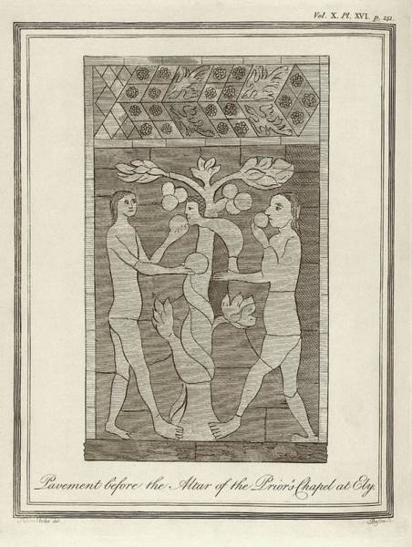 Adam And Eve Wall Art - Photograph - Temptation Of Adam And Eve by Middle Temple Library