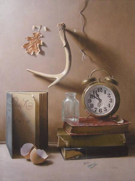 Wall Art - Painting - Tempus Fugit by Timothy Jones