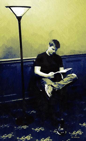 Painting - Ten O'clock Scholar by RC DeWinter