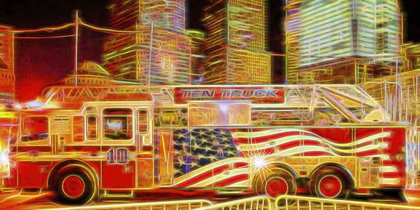 Ten Truck Art Print