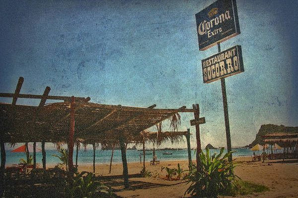 Photograph - Tenacatita Palapa by Doug Matthews
