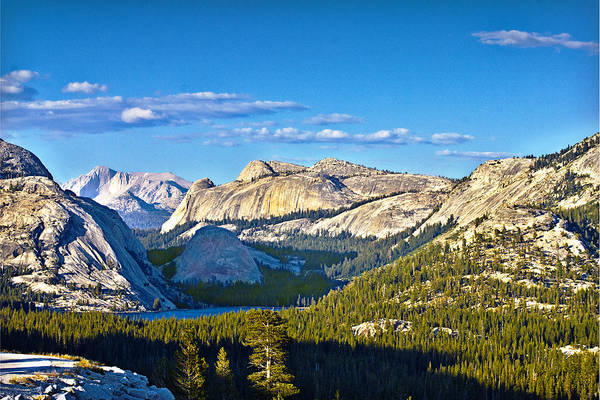 Photograph - Tenaya Lake From Olmsted Point In Evening by Gene Norris