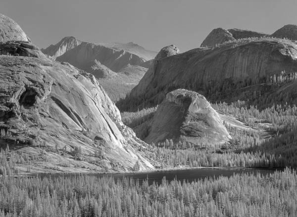 Photograph - 6m6552-bw-tenaya Lake Yosemite Bw  by Ed  Cooper Photography