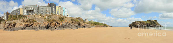 Photograph - Tenby Beach Panorama by Paul Cowan