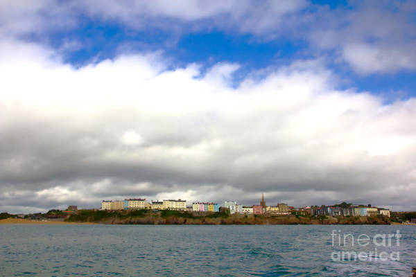 Photograph - Tenby Under Clouds by Jeremy Hayden