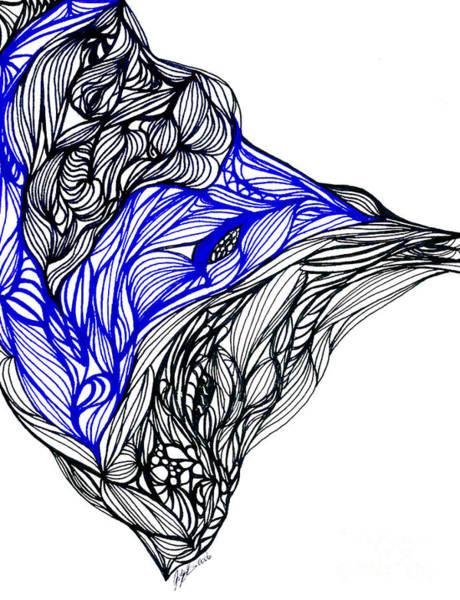 Wall Art - Drawing - Tenebrosity by Jamie Lynn