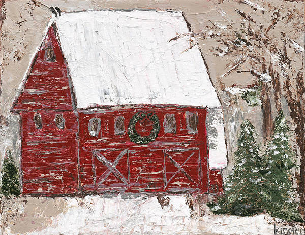 Wall Art - Painting - Tennessee Christmas by Kirsten Reed