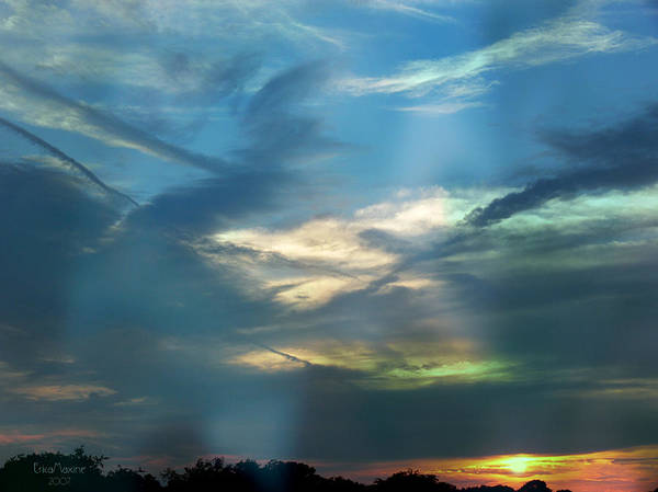 Photograph - Tennessee Sunset by Ericamaxine Price