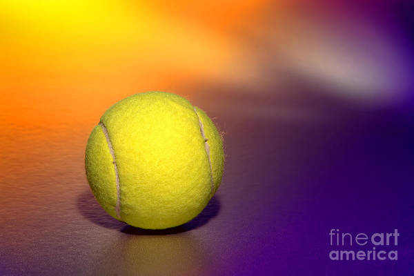 Photograph - Tennis Ball by Olivier Le Queinec