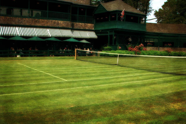 Photograph - Tennis Hall Of Fame 2.0 by Michelle Calkins