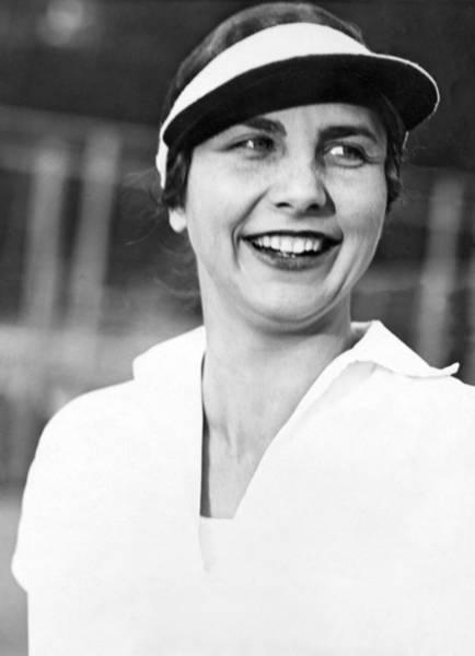 Wall Art - Photograph - Tennis Star Helen Wills by Underwood Archives