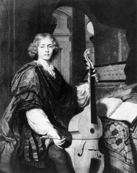 Cellist Painting - Tenor Viola Da Gamba by Granger